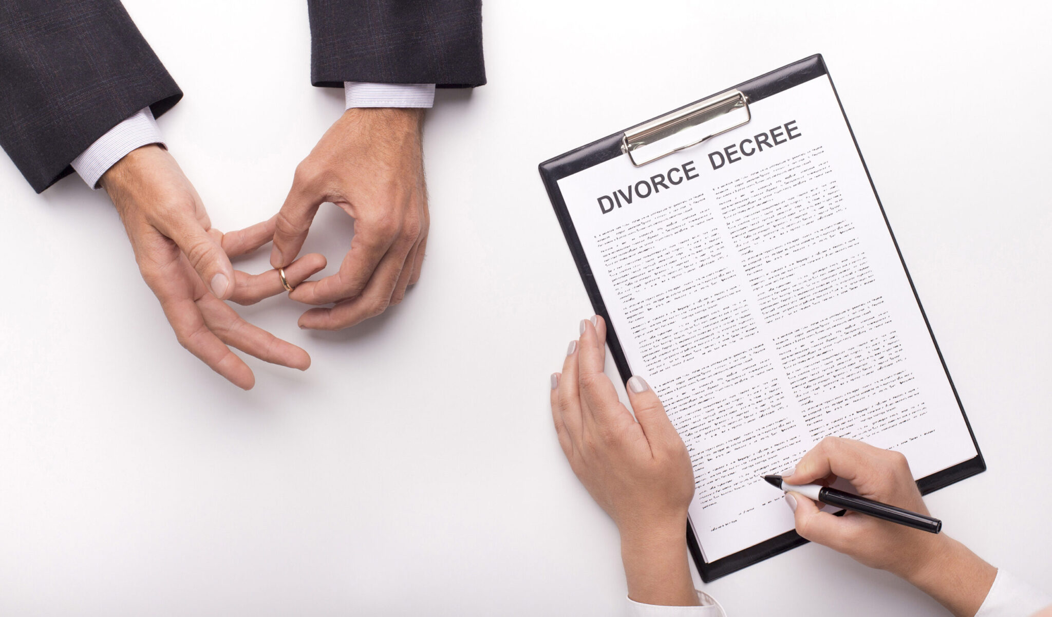 A man from Texas tricks his wife into a divorce