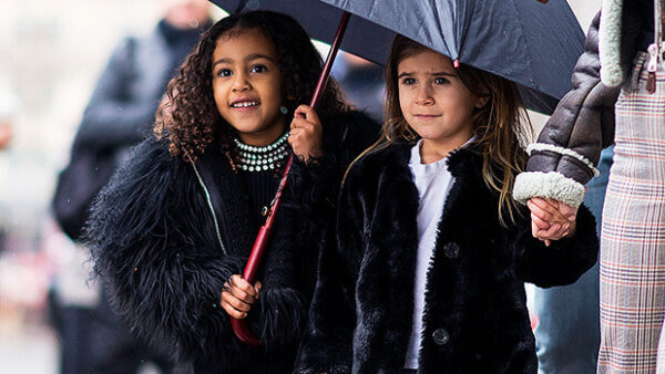 North West & Penelope Disick
