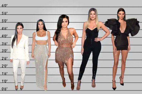Tallest Kardashian Jenner Sister