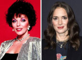 Joan Collins and Winona Ryder, 47