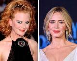 Nicole Kidman and Emily Blunt, 34