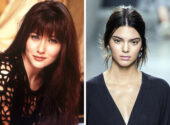 Shannen Doherty and Kendall Jenner, 19