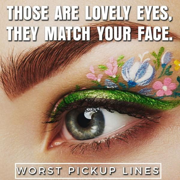 Those are lovely eyes ...... they match your face.